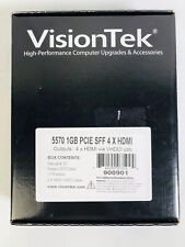 New VisionTek 900901 Graphic Card 5570 1GB With Manual VHDCI Cable