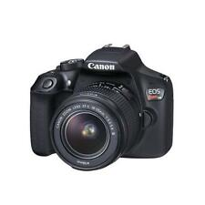 Canon EOS Rebel T6 18MP DSLR with EF-S 18-55MM f/3.5-5.6 DC III Lens Kit - Black