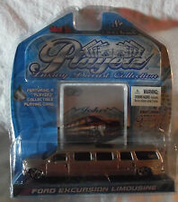 FORD EXCURSION LIMOUSINE SILVER PLAYERZ LUXURY DIECAST COLLECTION MAISTO 1:64