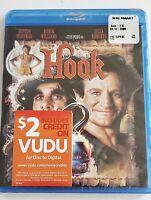 Hook [Blu-ray], New Sealed Dustin Hoffman Robin Williams  Julia Roberts PG