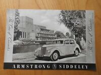 Vintage Armstrong Siddeley Whitley Advert -- Original -- from 1952