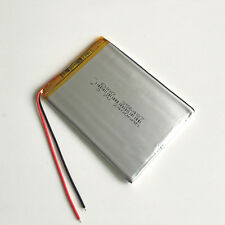 2400mAh 356487 Recharge Battery LiPo Polymer 3.7v For Mobile phone recorder GPS