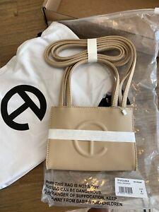 TELFAR Brand New - Small Cream Shopping Bag
