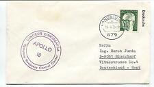 1972 Apollo 16 Ramstein recovery Control Center Deutschland West Space Cover