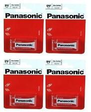 4 x 1 Pcs Pack Panasonic 6F22R-1BP 9v Size Battery (4 Batteries) - New