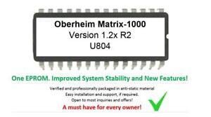 Oberheim Matrix-1000 – Version 1.2 R2 Nordcore's Firmware Update Mise Matrice