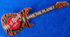UNIVERSAL CITYWALK OSAKA *TIGER SKIN* FENDER STRAT GUITAR Hard Rock Cafe PIN