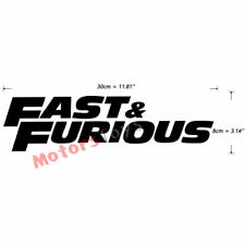 1 Black Color JDM Fast And Furious HF Decorate Vinyl Moto Auto Car Sticker Decal