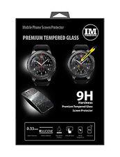 Premium Tempered Schutzglas Displayglas Glaß für Samsung Gear S3 Smartwatch