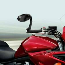 """Motorcycle Universal 7/8"""" 22mm Aluminum Handle Bar End Rear View Side Mirrors Us(Fits: Mastiff)"""