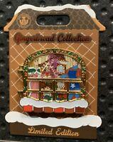 2019 Disney's Grand Floridian Aurora & Philip Christmas Gingerbread House Pin