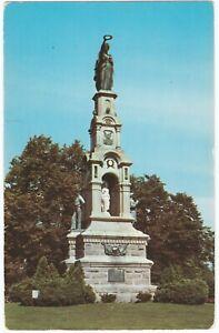 POSTCARD SOLDIERS' AND SAILORS' MONUMENT, BRIDGEPORT, CONNECTICUT, U.S.A.