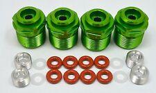 Aluminum Shock Lower Caps Green 4 pcs For Traxxas X-Maxx 77076-4 Dhawk Racing