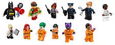 The LEGO Batman Movie Super Heroes 70912: Arkham Asylum Complete 12 Minifigures