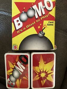 UNO Boomo Card Game  Rare  - NEW Sealed Cards in box + instructions
