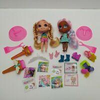 Hairdorables Series 3 Dolls - Willow & Kat 13 cm Dolls (No Retail Packaging)