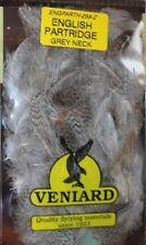 Fly Tying Veniard English Partridge Grey Neck feathers O10