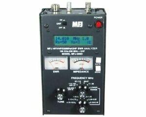 MFJ-269D HF/VHF/220MHz/UHF, .100-230, 415-470MHz, SWR Antenna Analyzer