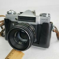 Vintage Zenit-E Olympic Moshiva 80 35mm Camera  Helios 44-2 Made in USSR