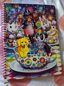 Lisa Frank characters- subject Notebook Wide Rule New!