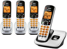 Uniden D1760-4 Cordless Phone with LCD Display & 3 Additional Handsets