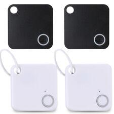 4Pack Smart Key Finder Bluetooth Mini Tracker GPS Locator Anti-Lost Wallet Phone