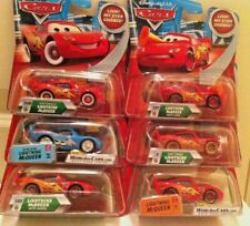 New Disney Pixar Cars 6 McQueen Set 1:55 Diecast Look My Eyes Change!  - 2009