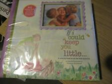 """12"""" x 12"""" memory book, if i could keep you little"""