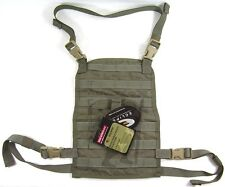 BAE Systems ECLiPSE Foldable Chest Rig MOLLE Platform - ranger green V2