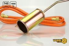 Gasbrenner Dachbrenner 745mm 28 KW Unkrautvernichter Gaslötgerät Abflammgerät