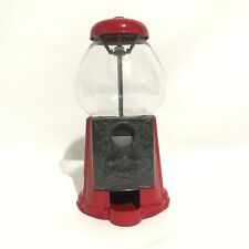Vintage Red Carousel Gum Ball Machine Retro Bank Your Favorite Candy Nuts Tested