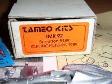 1/43 Tameo Kit TMK 92 Benetton B189 British GP 1989