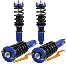 Coilover Kits Fit Honda CRV 1996 -2001 Adjustable Height Shocks Blue