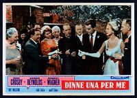 T107 Fotobusta Dinne Ein Für Mich Say One Debbie Reynolds Bing Crosby 1959