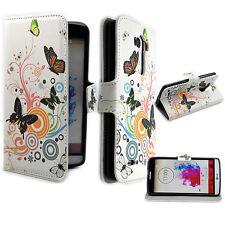 Folding Flip Leather Phone Card Pocket Wallet Cover Case Skin For LG G3