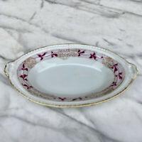 Vintage Imperial Nippon Porcelain Floral Olive Serving Dish Bowl
