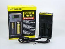 Nitecore Intellicharger NEW i2 Ladegerät für Li-Ion NiCd NiMH Akkus