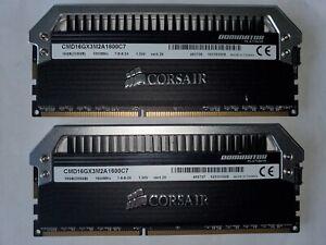 ✔✔ CORSAIR Dominator PLATINUM 16GB (2 x 8GB) 1600MHz ✔CL7✔ DDR3 PC3-12800