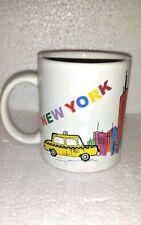 NYC Taxi Coffee Mug New York City Cab Landmarks Tea Cup