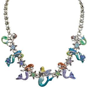 Kirks Folly Mermaid Madness Necklace silvertone