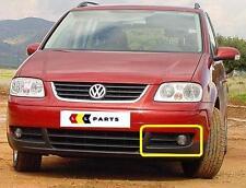 VW Touran 03-06 NUOVO ORIGINALE PARAURTI ANTERIORE N/S Sinistro Inferiore Nebbia Grill 1t0853665a