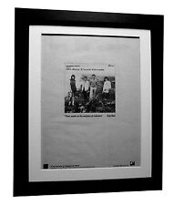THROBBING GRISTLE+20 Jazz+POSTER+AD+RARE ORIGINAL 1979+FRAMED+FAST GLOBAL SHIP