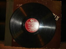 Columbia 36078 Eddy Duchin & his Orchestra - Embraceable You/Love Walked In 1941