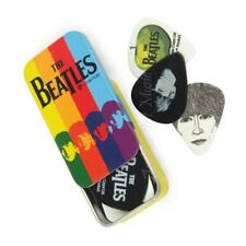 Planet Waves Beatles Signature Guitar Picks  in Tin Stripes 15 Plectrums / picks
