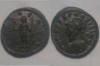 RARE Original ancient Roman coin Probus Antoninianus silvering Virtus Victory
