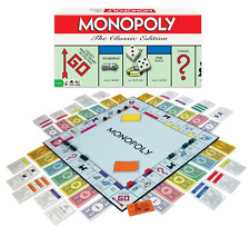 Monopoly, The Classic Edition, Traditional Family Fun Board Game, New.
