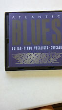 Atlantic Blues Guitar Piano Voalists Chicago BB King etc 4 CD CDs set Free Ship
