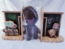 Little Big Planet 2 Book Ends & Sackboy from Playstation 3 Collector's Edition