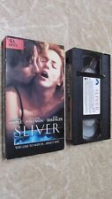 Sliver VHS, 1993, R- Rated Version 32722 Super Sexy and Suspenseful Sharon Stone