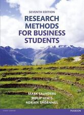 Research Methods for Business Students, Mark Saunders, Philip Lewis 7th Edition